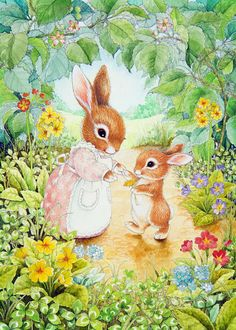 Baby Bunny Print By Lynn Bywaters Bunny Art, Cute Bunny, Cute Drawings, Animal Drawings, Easter Drawings, Lapin Art, Susan Wheeler, Bunny Painting, Rabbit Art