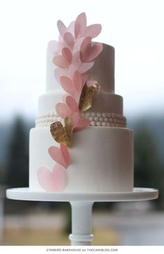 10 Love Inspired Cakes | including this design by Starbird Bakehouse | on TheCakeBlog.com