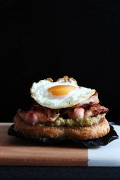 bacon and egg roll with a twist