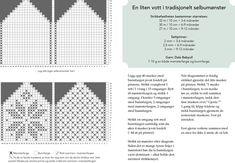 Miniselbu — Strikkezilla Design Knitting Graph Paper, Kids Knitting Patterns, Baby Hats Knitting, Fair Isle Knitting, Knitting For Kids, Baby Mittens, Mitten Gloves, Baby Barn, Tricot