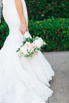 Photography: Aga Jones Photography   agajonesphotography.com Wedding Dress: Enzoani- Dakota   enzoani.com/ Floral Design: Whimsey Florals   whimseyflorals.com   View more: http://stylemepretty.com/vault/gallery/39981