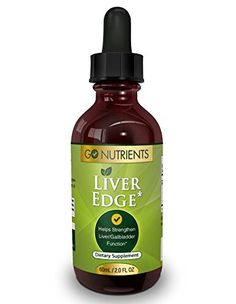 Liver Edge  Liver Cleanse and Detox Supplement  Feel Great and Boost Energy  2 oz *** Visit the image link more details-affiliate link.