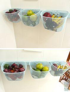How to Make a Fruit Bowl with Bicycle Bins    Como fazer uma fruteira de abbd853b203