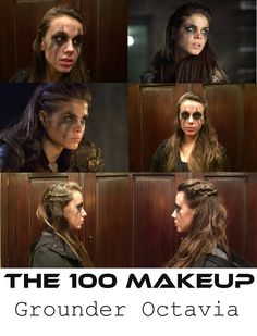 Grounder Octavia Makeup from The 100