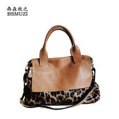 68.44$  Buy here - http://alioh3.worldwells.pw/go.php?t=32502484590 - Newest Women Leopard Bag Brand Famous Genuine Leather Italian Handbags Totes Kabelky Women Ladies Bags Bolsa Feminina De Couro 68.44$