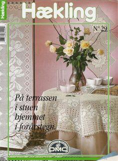 Haekling №29 Tischdecken, Servietten, Vorhänge. Diskussion über Liveinternet - Russisch Service Online-Tagebücher