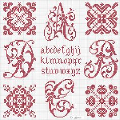 Lacomtesse & lepointdecroix | large collection of beautiful free cross stitch charts designed by La Comtesse