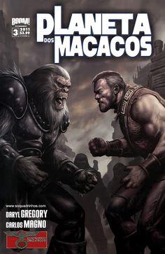 SAM-COMICS: Planeta dos Macacos 03 (2011)