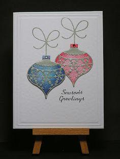 Memory Box Snowflake Ornament Die Card  (Site)