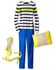 Spring Trends 2013: ROYGBIV Alert! Lingerie, bags, shoes and tops from brands like Kate Spade, Sandro, Jessica Simpson and more - Shopping - InStyle.com