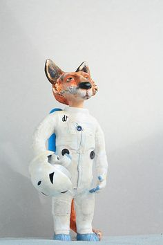 Fox astronaut by FrauLuba