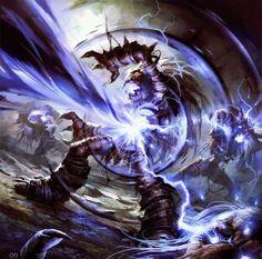 Shadow Word: Death - Hearthstone: Heroes of Warcraft Wiki World Of Warcraft, Warcraft Art, Raymond Swanland, Hearthstone Game, Hearth Stone, Death Art, Heroes Of The Storm, Starcraft, Stone Heart