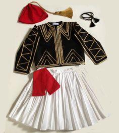 Traditional Ethnic Greek Costume  Boys by EllinikiStoli on Etsy, $150.00
