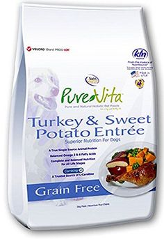 PureVita Grain Free Turkey  Sweet Potato Dry Dog Food  25lb >>> For more information, visit image link. (This is an affiliate link)