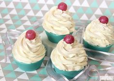 Champagne Soap Cupcakes