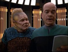 Star Trek Enterprise   Neelix and the Hollo Doc from Voyager. Two of the lesser seen crew but ...