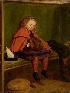 My Second Sermon byJohn Everett Millais. 1864.