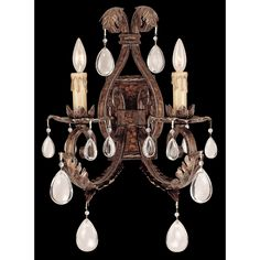 Savoy House Chastain Tortoise Shell 2-Light Wall Sconce - Style # K0995