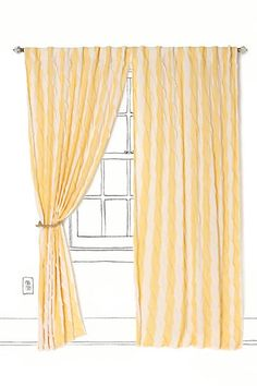 Waving Stripes Curtainlike this but would like a pelmet
