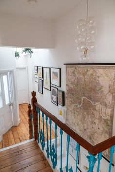 Home Tour: Tiny & The House - The Frugality Victorian Terrace Hallway, House In The Clouds, Narrow Hallway Decorating, Victoria House, Interior And Exterior, Interior Design, Vintage Room, French Country Decorating, Big Houses