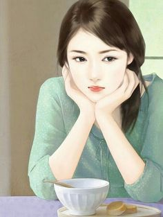 A depressed HANA talking with Hiro about their relationship 2015 Korean girl painting Cute Girl Drawing, Cute Drawings, Korean Art, Asian Art, Art Chinois, Lovely Girl Image, Cute Girl Wallpaper, Digital Art Girl, Painting Of Girl