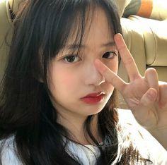 Cute Girls, Cool Girl, Sad Song Lyrics, Cool Avatars, Uzzlang Girl, China Girl, Pretty Face, Korean Girl, Hair