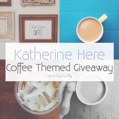 Coffee Themed Giveaway! Don't miss your shot at these prints and postcards! // #coffee #etsy #design #postcards