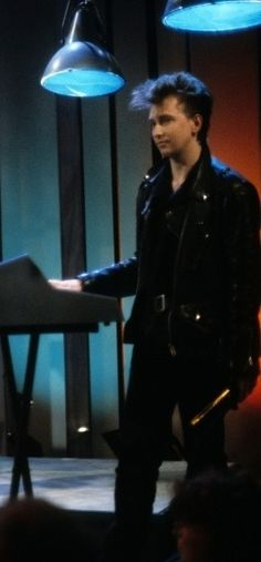Alan Wilder about ready for anything, like being a surgeon or beating you up with a cane...