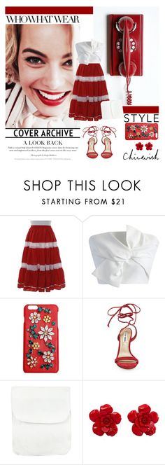 """""""chicwish"""" by amadahy ❤ liked on Polyvore featuring Crosley, Chicwish, Who What Wear, Dolce&Gabbana, Steve Madden and Chanel"""