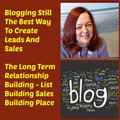 There is one thing I have been doing that has created leads and sales..  From the beginning and through to now..And that is blogging!