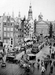 Netherlands. Raadhuisstraat, Amsterdam, 1934