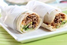 メキシカンブリトー - マイティの Awesome Cooking Fresh Rolls, Cooking, Ethnic Recipes, Food, Kitchen, Essen, Meals, Yemek, Brewing