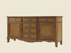 Twilight Bay Kendall Buffet - Lexington Home Brands Lexington Furniture, Lexington Home, Styling A Buffet, Large Furniture, Furniture Ideas, Discount Furniture, Adjustable Shelving, Dining Table, Dining Room
