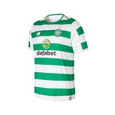 7aada90ed9f90 New Balance Celtic Home Mens Short Sleeve Jersey 2018 19 - Material  100%