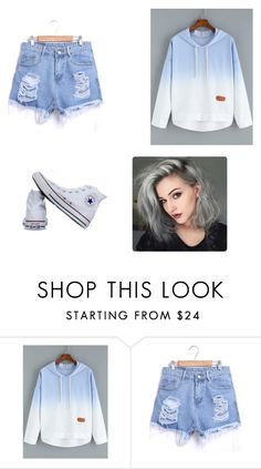"""pastel kind of"" by maryjsullivan ❤ liked on Polyvore featuring Converse"
