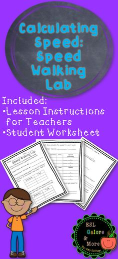 4th grade Math Worksheets Calculating speed Pinterest