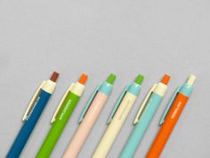Colour Block Pen at Present Correct (via Puentes McInnis) Color Blocking, Colour Block, Best Pens, Color Shapes, Paper Goods, Color Combos, Color Inspiration, Color Patterns, Cool Designs