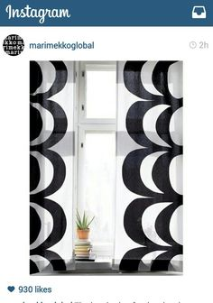 Marimekko kaivo fabric, instagram