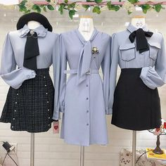 Kpop Fashion Outfits, Ulzzang Fashion, Stage Outfits, Preppy Outfits, Korean Outfits, Cute Fashion, Kawaii Fashion, Stylish Outfits, Girl Fashion