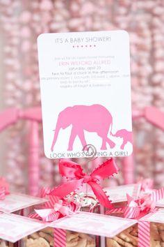 Kara's Party Ideas | Kids Birthday Party Themes: Elephant Baby Shower- Party Dress Magazine