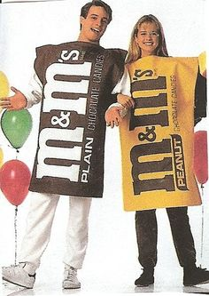 M PEANUT CANDY COSTUME HALLOWEEN PARTY ADULT LARGE SIZE M & M NEW! | eBay