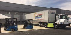 BYD delivers a fleet of all-electric trucks to work in yards in California - Electrek All Electric Truck, Electric Cars, Electric Vehicle, Heavy Duty Trucks, Heavy Truck, Ev Charging Stations, Sustainable Transport, Green Technology, Truck Parts