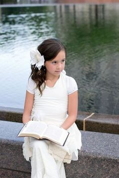 Preparing Your Children for Baptism & Other Baptism Traditions. For when I have kids. Cute Baptism photos