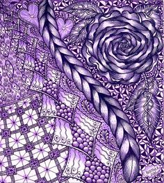 carolyn boettner zentangle - Google Search