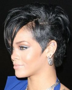Rihanna's awesome short hair