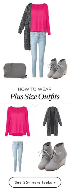 """"""""""" by amendietta on Polyvore featuring Splendid, Frame Denim, WithChic, women's clothing, women's fashion, women, female, woman, misses and juniors"""