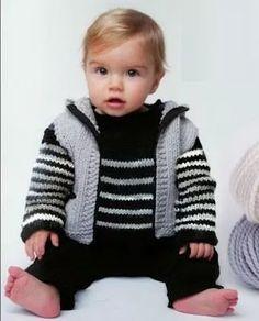 moldes y patrones ropa tejida para bebes y niños / as