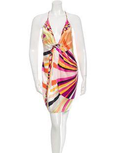 d80edbc120bc4 Emilio Pucci Embellished Silk Dress Silk Slip, Emilio Pucci, Silk Dress,  Silk Gown