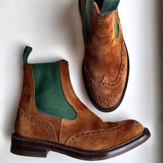 Trickers Boots by Graham Fowler (NYC) Personal pair