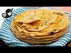 Sweet Potato Flatbread or Roti [with Video] | No Added Oil + Vegan